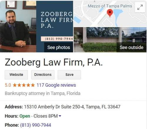 best tampa bankruptcy lawyer__peter zooberg